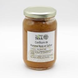 Confiture de Pommes Noix Safran 380 Gr